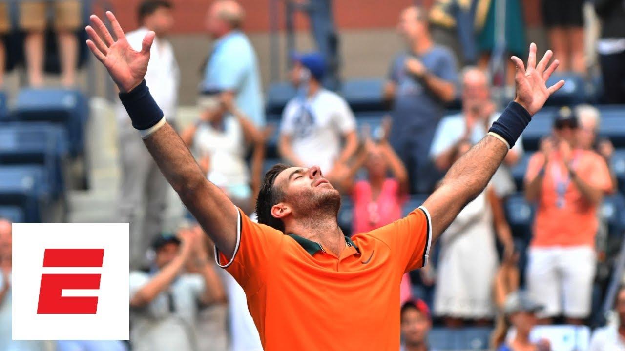 2018 US Open highlights: Juan Martin del Potro beats John Isner in four sets | ESPN