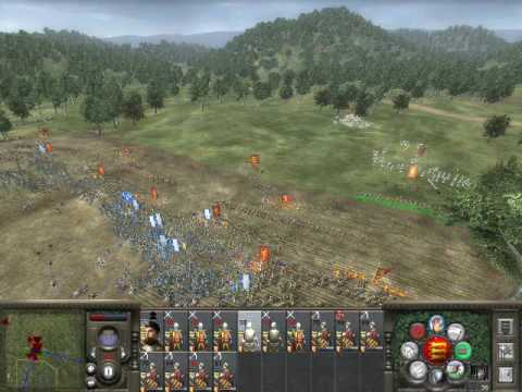 Medieval II Total War - The Battle Of Agincourt - Part 1