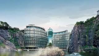 Worlds First Underwater Quarry Hotel - InterContinental Shanghai Wonderland
