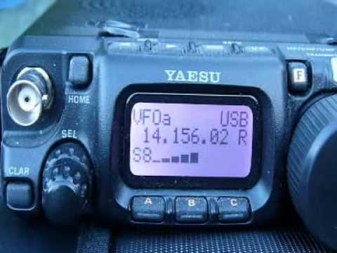 Ham Radio QRP 12.000 miles