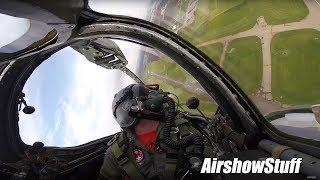 MiG-17 Fresco Uncut Cockpit Cam (with F-86 Sabre) - Gathering of Avengers 2017