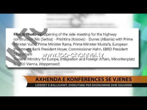 Axhenda e Konferencës së Vjenës - Top Channel Albania - News - Lajme