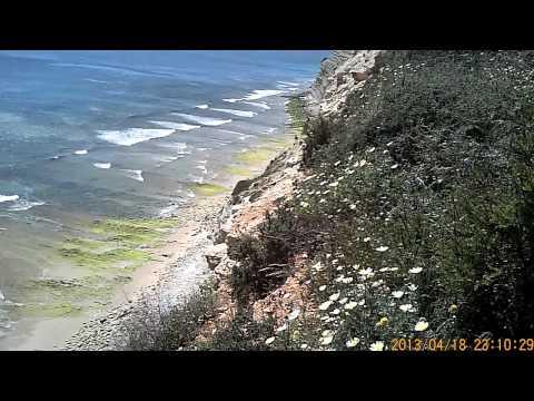 Portugal 2013 Porto de Mos Beach from the bluffs