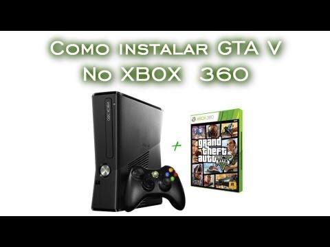 Como instalar no Xbox 360 - HD   GTA V [PT-BR]