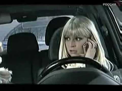 блондинки за рулем видео приколы: