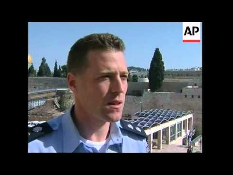 Israel steps up security at contentious holy site; ADDS Israeli, Arab MK comments