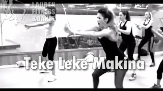 Zumba ® fitness class with Lauren- Teke Leke Makina