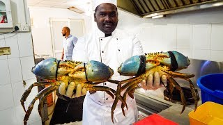 Food in Sri Lanka - 1.5 KG MONSTER Crab Curry (Family Recipe) in Colombo, Sri Lanka!
