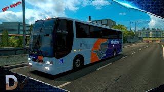 Euro Truck Simulator 2 - V1.31 ► Liberação Vissta Bus 4x2  - Link de download 109.33 MB