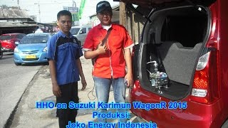 Fuel Saver HHO Joko Energy on Suzuki Karimun WagonR 2015
