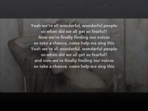 Karaoke Read all about it- Emeli Sande with lyrics of screen