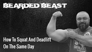 love squat deadlift bdnch