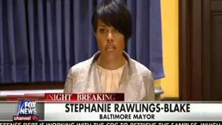 Baltimore Mayor doesn