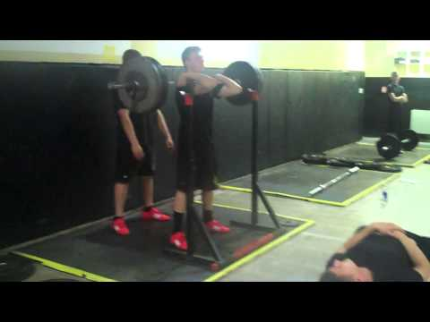 Army and Navy Academy Squat Compilation - 11/21/2012
