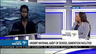 Urgent National audit of school sanitation facilities