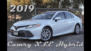 2019 Toyota Camry XLE Hybrid Review & Drive    The Mid-Size King's Got A Green Thumb