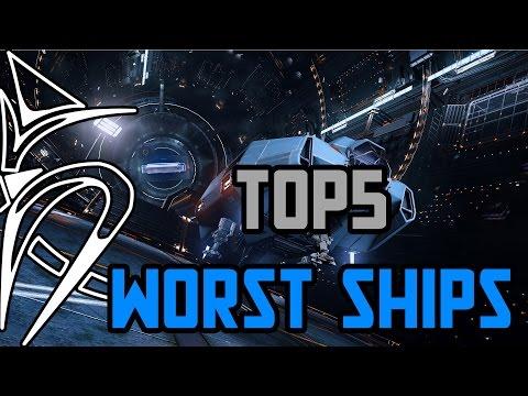 Top 5 Worst ships [Elite Dangerous]