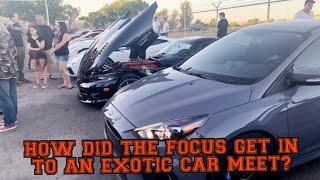 Exotic Car Meet | Fake Turbo Supra Exposed