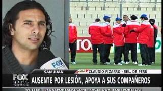Claudio Pizarro en Fox Sports