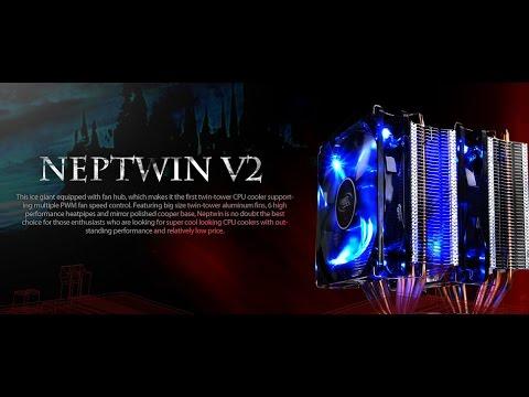 Обзор системы охлаждения DeepCool Neptwin v2 Часть 2  Установка на ПК и тест