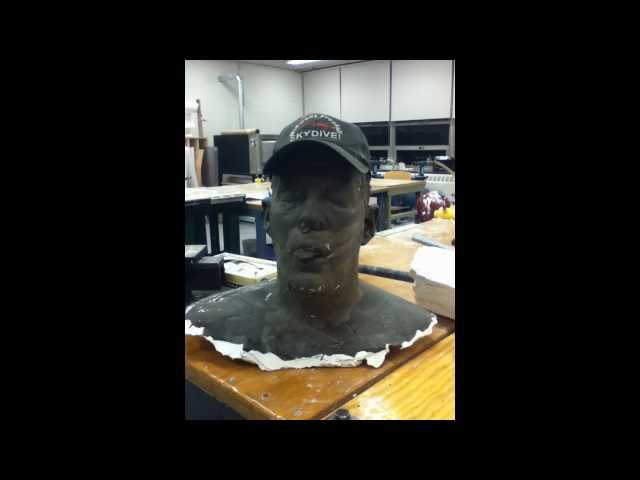 Lifecasting: Creating a Full Head Mold, Demolding and Producing Clay Cast (Artistic)