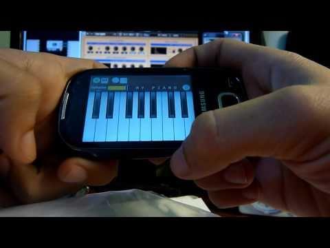 Teclado MIDI en tu android por Wi Fi