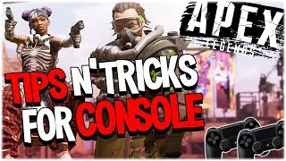 Apex Legends Tips and Tricks on Console (PS4)