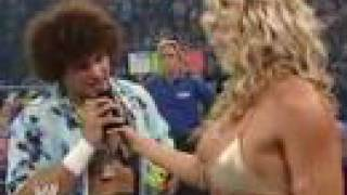 Carlito & Torrie Wilson's First Encounter