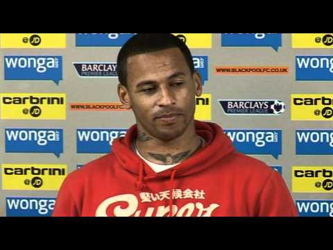 DJ Campbell on Blackpool survival  | Man United vs Blackpool - Premier League 22-05-11