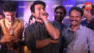 Ram Charan Speech about Ranagasthalam Movie at Virusa Josh Fantasy Season 4