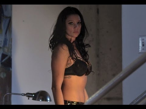 GIRL AT THE DOOR A Sexy Short Horror Film