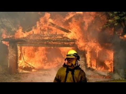 California wildfires continue to rage