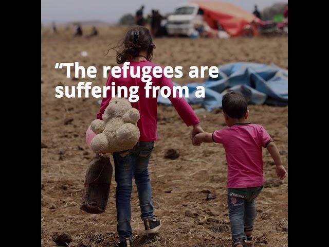 Syrians Fleeing Assad Regime Airstrikes Reach Israeli Border