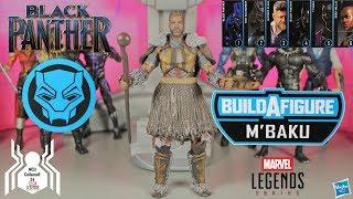 Marvel Legends M'BAKU BAF Black Panther Wave 2 Figure Review and Ranking