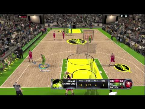 NBA 2k12: Seattle Sonics Association - S1G1 - Our First Challenge (HD)