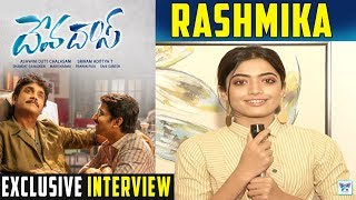 Rashmika Exclusive About Devadas Movie | Nani, Akkineni Nagarjuna Akanksha | Telugu Latest Interview