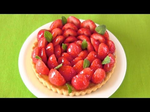 Easy Sugar-Free Fresh Strawberry Tart (Recipe) ???????????? (???)