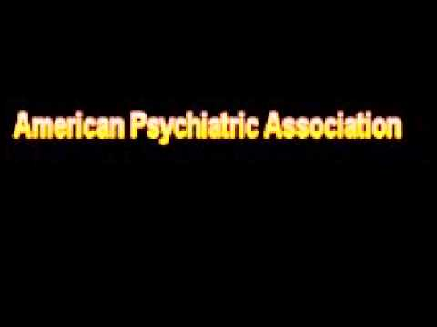 Header of American Psychiatric Association