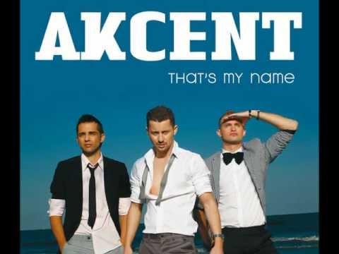 Akcent - Thats my name (karaoke version)