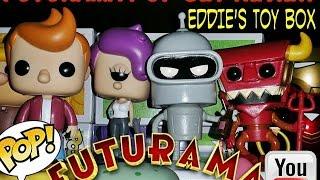 Funko Pop! Futurama Series: Bender, Fry, Lela and Robot Devil Review!