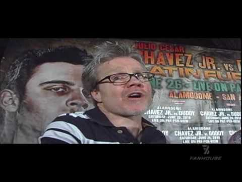 Freddie Roach Training Julio Cesar Chavez Jr. Video