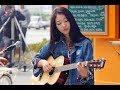 KEREN Cewe Cantik Imut Pandai Main Gitar Asal Kau Bahagia