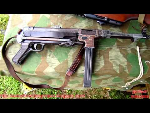 MP 40 (Maschinenpistole 40) FULL HD