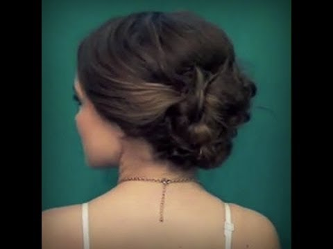 Easy Voluminous Formal Updo