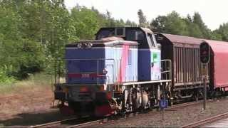 Trains in Hultsfred (Trains in Sweden in June 2006 Part 13)