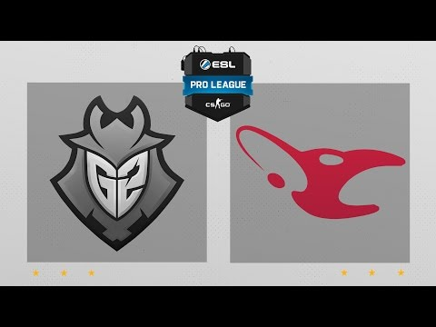 CS:GO - G2 vs. Mousesports [Nuke] Map 1 - ESL Pro League Season 5 - EU Matchday 21