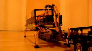 Lego Technic Combilift Container Lifter Prototype by dokludi NO SOUND