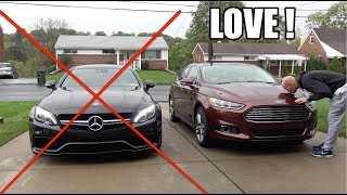 Why my Ford Fusion is the BEST car i've ever owned! ( And NOT the AMG Mercedes)