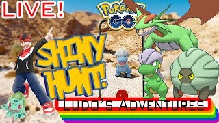 LIVE SHINY BAGON COMMUNITY DAY HUNT - POKEMON GO LIVE STREAM