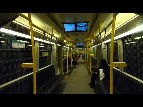 U-Bahn Berlin: Mitfahrt H-Zug 5015 als U8 von Lindauer Allee nach Wittenau